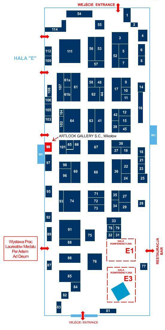 Mapka SacroExpo 2014